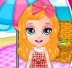 Barbie bebê piquenique