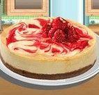 Fazer bolo com frutas vermelhas