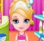 Barbie bebê fazer bolo