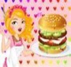 Receita de hamburguer