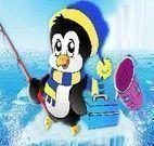 Decorar sorvete do Pinguim