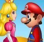 Beijo Mario e Peach