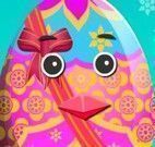 Elsa Frozen decorar ovo de Páscoa