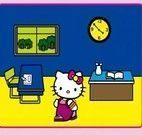 Colorindo Hello Kitty