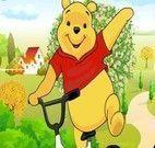 Corrida de bicicleta do Pooh