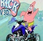 Corrida no fundo do mar com Patrick