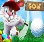 Jogar golf com o coelho