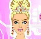 Barbie princesa no salão de beleza