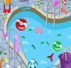 Limpar a piscina do Clube