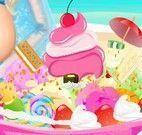 Decorar sorvete da Elsa grávida