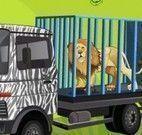 Dirigir carro no zoológico