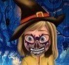 Máscara do Halloween da Riley