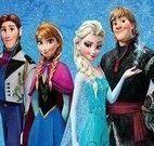 Filme Frozen jogo da memória