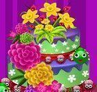 Decorar bolo primavera