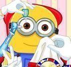 Minion no médico oftalmo