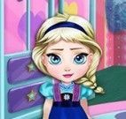 Bebê Elsa Frozen decorar quarto