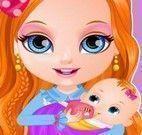 Bebê da Barbie cuidar