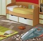 Limpar quarto sujo
