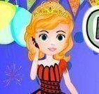 Princesa Sofia festa de ano novo