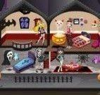 Monster High decoração do castelo Halloween