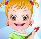 Vestir bebê Hazel cantora de rock