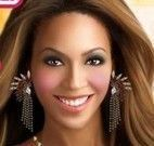 Maquiagem da famosa Beyoncé