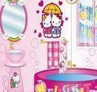 Decoração Hello Kitty de banheiro