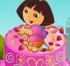 Decorar bolo de aniversário da Dora