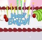 Decorar bolo de aniversário