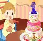 Decorar bolo do aniversário do bebê