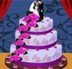 Decorar bolo três camadas de casamento