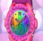 Decorar Relógio da Barbie