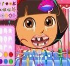 Dora cuidar dos dentes