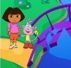 Dora e Botas quebra cabeça da ponte