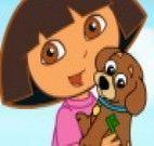 Dora e Perrito salvando animais presos na jaula
