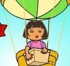 Dora entregando pacotes Balão de gás