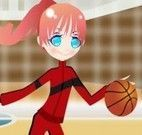 Roupas para jogadora de basquete