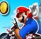Mario aventuras radicais na moto