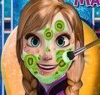 Anna limpeza de pele máscara de pepino