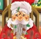 Papai Noel no médico