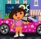 Corrida de carro da Dora