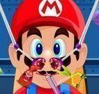Mario cuidar do nariz