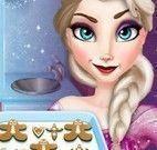 Frozen Elsa cozinhar biscoitos