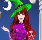 Bruxa Barbie vestir roupas