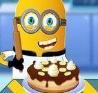 Minion receita de torta de banana