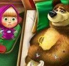 Masha cuidar do amigo Urso