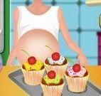 Grávida receita de muffins