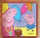 Montar puzzle do Peppa Pig