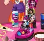 Decorar bota da Monster High