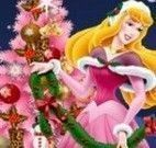 Aurora decorar árvore de natal